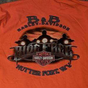 Harley Davidson XXL long sleeve men's shirt
